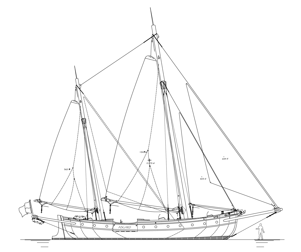 Art Line Yacht Design : One secret boat plans drawings here