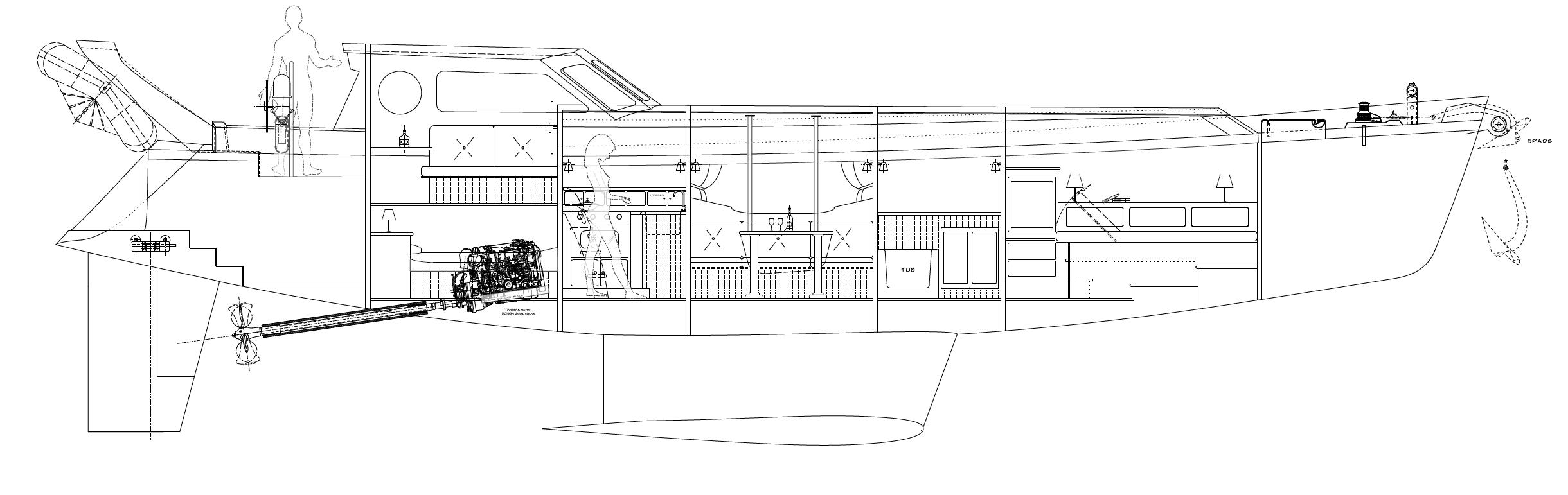 Art Line Yacht Interior Design : Our custom yacht design process kasten marine
