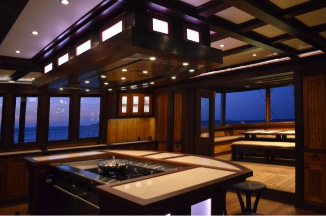 36m KLM Dunia Baru - Kasten Marine Design, Inc. - Photo by Dennis Anderson