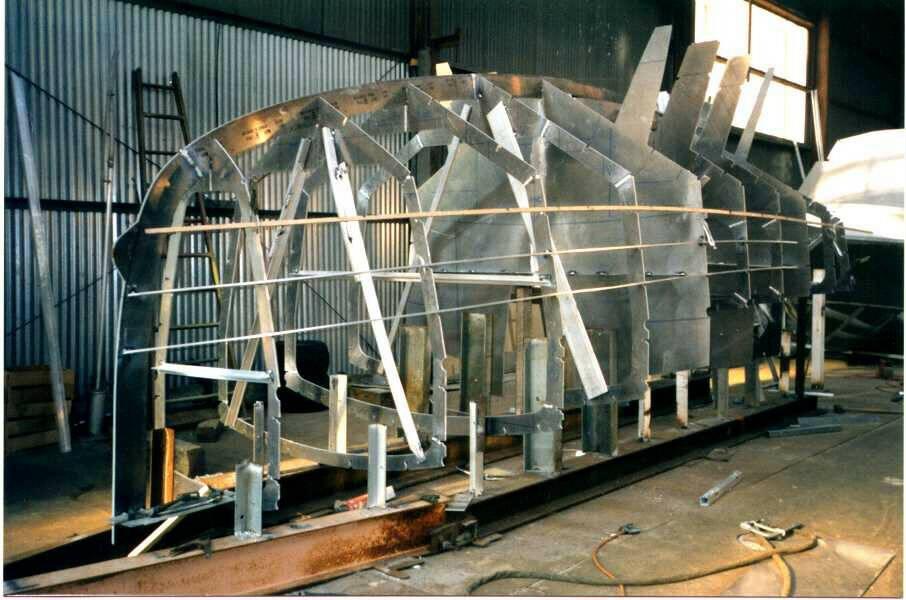 CNC Pre-cut Parts for Boats - Kasten Marine Design