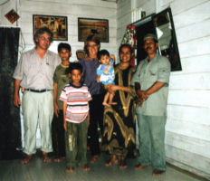 Haji Abdul Wahab and Family