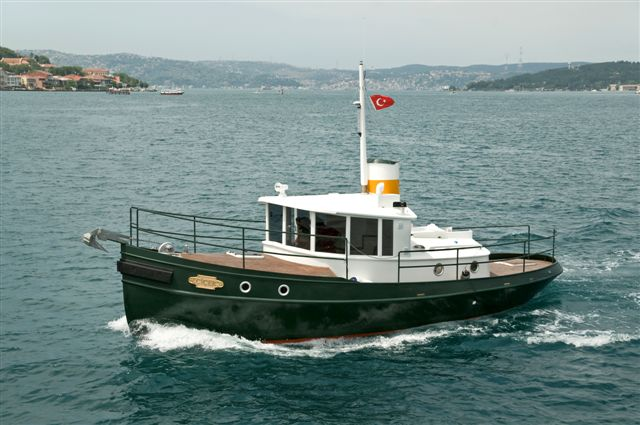 32' Terrier on the Bosphorus, Turkey