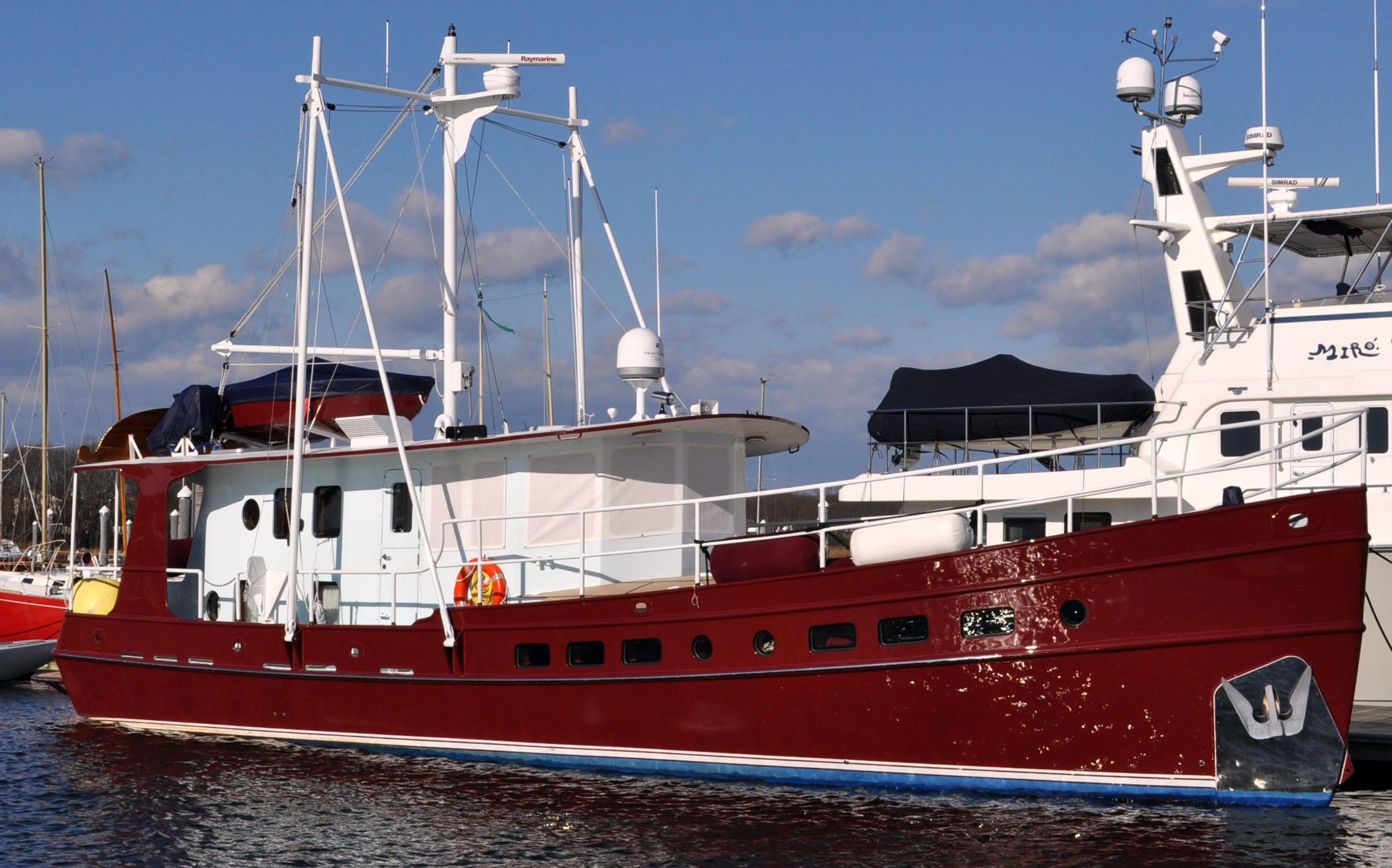 Motor Yacht Designs - Kasten Marine Design