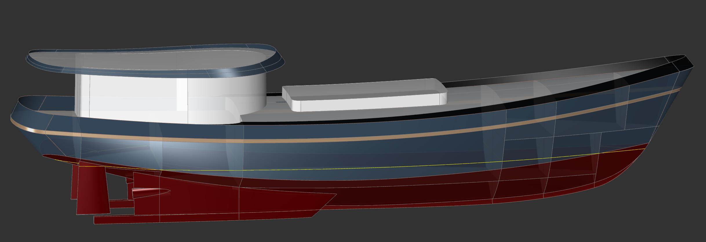 120' Cargo Yacht - Kasten Marine Design
