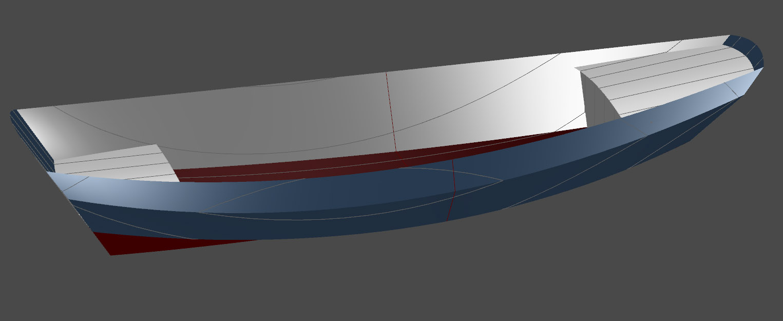 One secret: Nesting pram dinghy plans