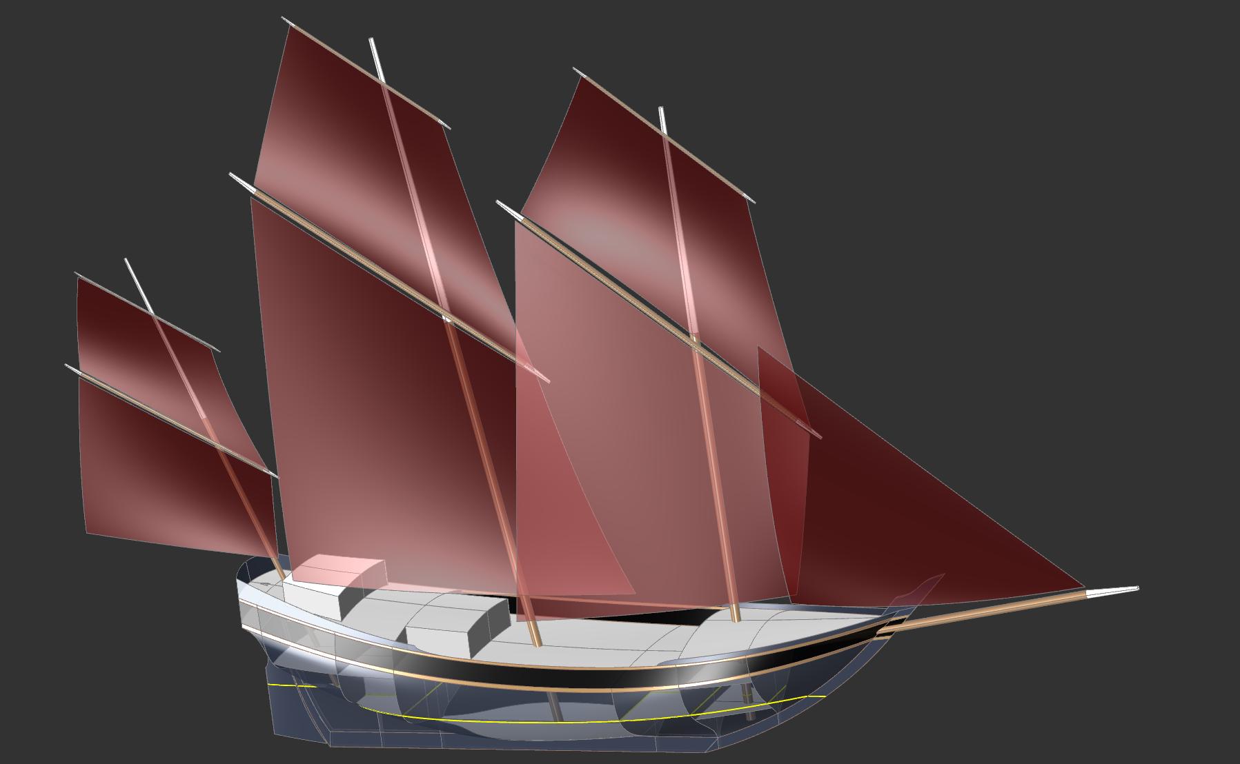 36m Arabian Dhow Kasten Marine Design