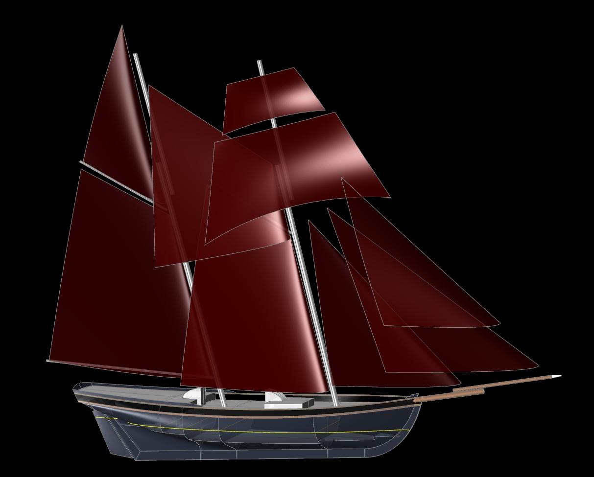 80 Schooner Royalist Kasten Marine Design
