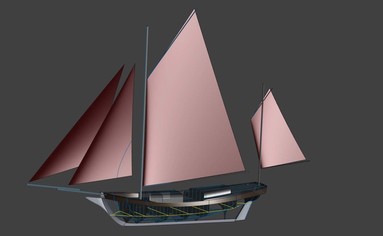 38' SPRAY - Making An Icon Suitable for Voyaging